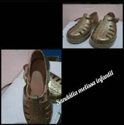 Sandália infantil Melissa Nova