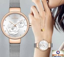 Lindo relógio Luxo feminino