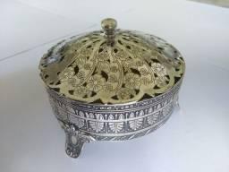 Porta jóias de prata