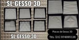 Placas de gesso 3D