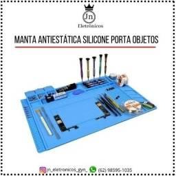 Título do anúncio: Manta Antiestática Silicone Porta Objetos 450x300mm