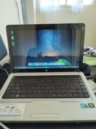 Título do anúncio: HP i3 4g de ram SSD 240g.
