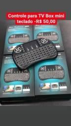 Título do anúncio: L.N Imports controle mine teclado para TV Box!!