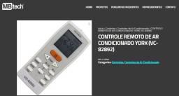 Controle de Ar-condicionado York