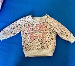 2 blusas de Meton lindas para bebê menina.
