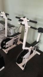 Bicicleta ergométrica resistente