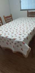 Toalha de mesa 8 lugares
