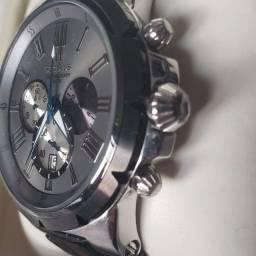 Relógio masculino Seculus analógico com cronógrafo