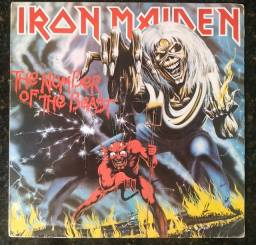 Lp Iron Maiden Number Of The Beast