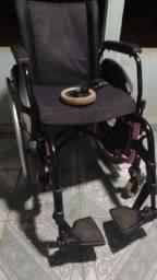 Cadeira de roda ortobras novinha
