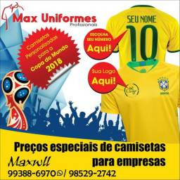 Camisetas do Brasil personalizadas Leia o anúncio