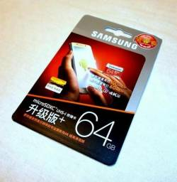 Cartão de Memória Samsung Micro SDXc Uhs-3 64Gb Class10