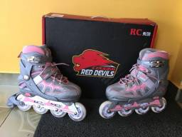 Patins Cougar Red Devils