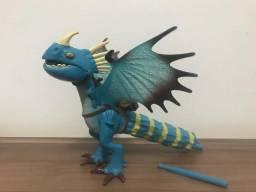 Dragão Tambor trovão Azul