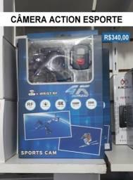 Câmera action esporte