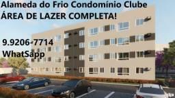 """G - Oportunidade em Paulista/ Apartamentos na """"Alameda do Frio"""" 2 quartos e lazer completo"""