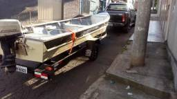 Carretinha p/ barco