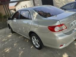 Corolla 12/13 Xei 4 pneus zeros ipva 2019 pago - 2013