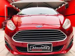 New fiesta 1.6 flex completo + ar digital, carro impecável !!! - 2015