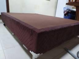 Base para cama box casal Gazin marrom