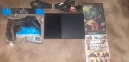 Vendo PlayStation2 e aceito cartão 4x de 71$
