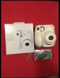 Câmera instantânea Fuji filme 7s máquina fotográfica com filme novíssima