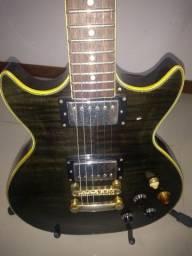 Guitarra Gianini rara, captadores DiMarzio, Gibson, Les Paul