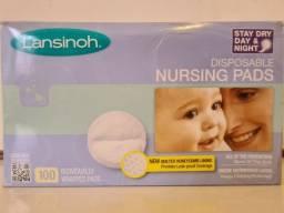Absorventes Descartáveis para Seios Lansinoh Stay Dry Day & Night