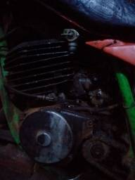 Motor foguete Yamaha  dt 180
