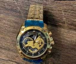 Relógio Casio Edifice Dourado ( Novo )