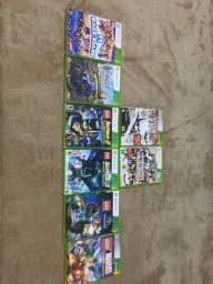 Jogos Xbox 360 originais quit 9 jogos eviamos pelo correio freet por conta do comprador