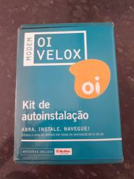 Vendo Modem Oi Velox ( kit de autoinstalação) - Novo na caixa