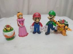 Super Mario, Bowser, peach, Luigi, Bowser na nave (usado)