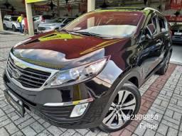 Sportage 2012 automática + teto solar + couro! Aceito trocas e financio