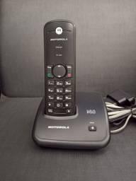 Telefone sem fio Preto Motorola FOX500