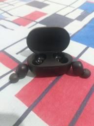 Fone de ouvido de bluetooth usado