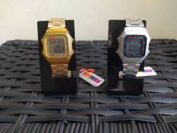 Relógios Skmei Unissex Modelo Retrô 1337. Disponíveis em duas Cores!!!