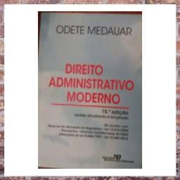 Livro: Direito Administrativo Moderno Odete Medauar