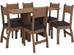 Jogo de Mesa 6 cadeiras Milano