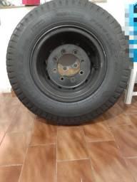 Rodas com pneus de Caminhão
