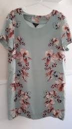 Vestido floral. Numeração: 44