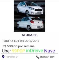 Alugo, Uber ,99, Cabify,InDreive,Nave