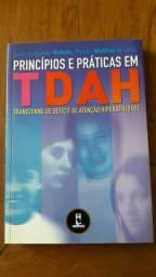 Livro Princípios e práticas em Tdah Usado