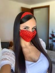 Usado, Máscara Segura Tiara/Faixa de Cabelo comprar usado  Curitiba