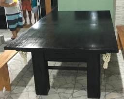 Mesa de sinuca semi oficial nova com tampo para mesa de jantar!, usado comprar usado  Otacílio Costa