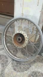 Roda trazeira da cg 150