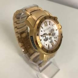 Relógio Bvlgari Iron Man Novo (Premium) + Entrega Grátis
