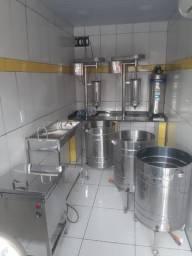 Máquinas de açaí aço inox