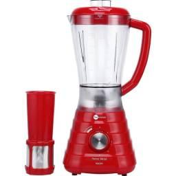 liquidificador funkitchen vermelho 2,4L 900w