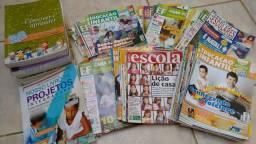 Lote Educação Infantil +80 livros e revistas